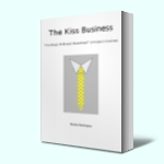 Paperback: The Kiss Business - Karin H's debut business novel