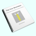 (image of illustration prupose only) the e-book The Kiss Business