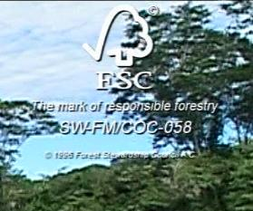 Inpa FSC certification number in Bolivia