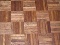 Wood You Like Mogno Cambara mosaic as alternative for Teak and Merbau. click on image for enlargement
