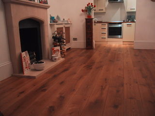Wood You Like Duoplank Oak Mammoet plank, aged, smoked and oiled natural 200mm wide