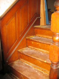 Oak stairs expose hidden value of your home