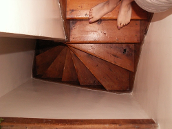 Stay safe, add sisal or synthetic stair mats to your wooden stair
