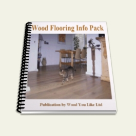 WoodFlooring Info Pack - publication by Wood You Like Ltd (image for illustration purposes only)