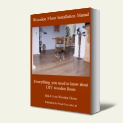 Wood You Like's Wooden Floor Installation Manual - image for illustration purpose only