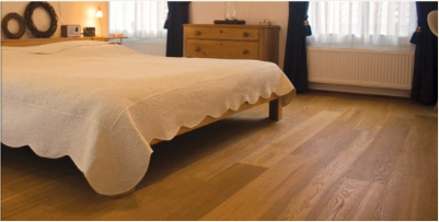 Quality wood-veneer Oak flooring, real wood for any budget