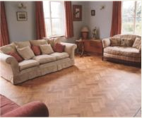 "Brand new Oak Rustic ""old-fashion"" herringbone, complimenting the design style of your home"