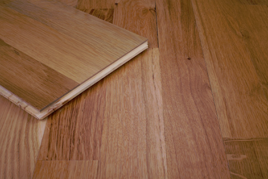 3 strip wood-engineered floor, simple real wood for every budget