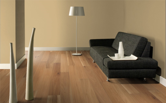 Floorboards 15mm thick, Oak Rustic, oiled natural