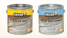 Saicos Colour Wax Classic, natural finish for wooden flooring and furniture