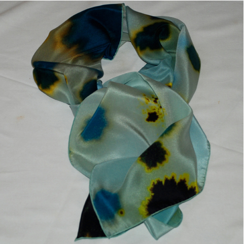 Richard Weston's mineral scarves going to Liberty