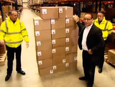 Theo Paphitis boxing with profit