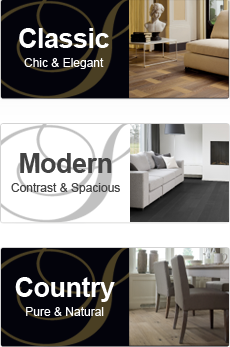Solidfloor (TM) wood-engineered ranges for every design style