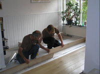 Have your unique natural wooden floor installed by the professionals of Wood You Like Kent