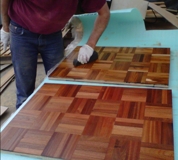 Can A Very Tired Lacquered Floor Be Waxed With Your