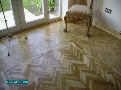 Rustic Oak wood blocks (Design Parquet)