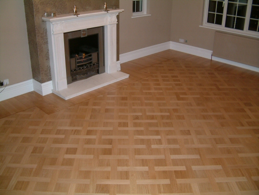 Design Parquet Pattern Plait Large with 'Soldiers'