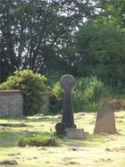 Our next-door neighbours, Charing's cemetery with many Celtic crosses