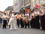 Jazzweekend with its famous street-parade