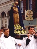 Maria ommegang: the holy procession in honour of Our Lady
